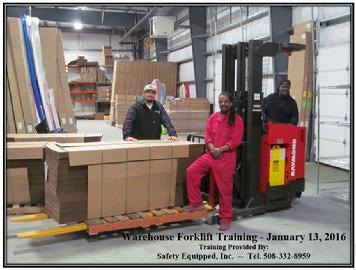 Warehouse Forklift Training - BIC Sport